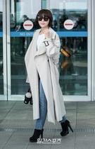14日午後、仁川空港からクアラルンプールに出国する女優ハ・ジウォン。