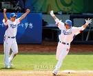 2008年8月22日、北京五輪準決勝の李承ヨプ(イ・スンヨプ)