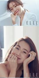 女優のチェ・ジウ(写真提供=ELLE Korea)