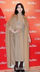 28日午後、ソウル東大門デザインプラザで行われたファッションブランドのフォトウォールイベントに参加した女優のキム・オクビン。