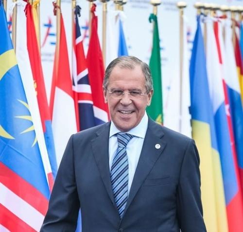 ロシアのセルゲイ・ラブロフ外交長官