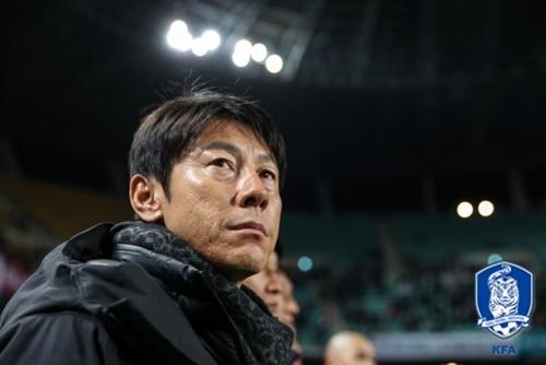 サッカー韓国代表の申台龍(シン・テヨン)監督(写真=大韓サッカー協会提供)