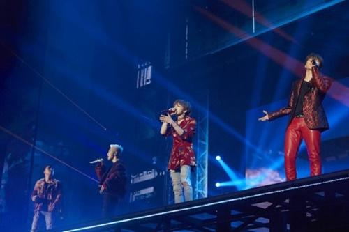 BIGBANGの公演の様子