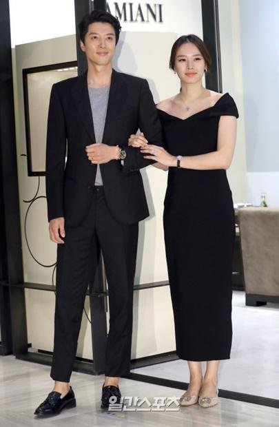 俳優イ・ドンゴンとチョ・ユニの夫婦