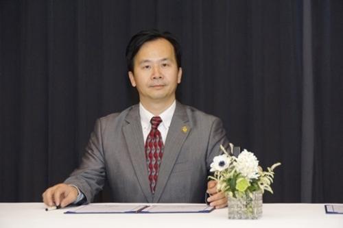 中国電子商会の彭李輝秘書長