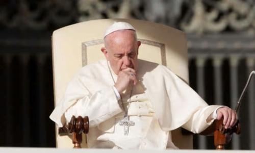 フランシスコ法王。