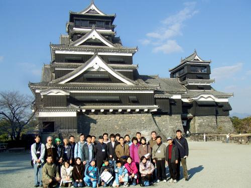 文禄・慶長の役で日本軍の先鋒だった加藤清正が1607年に建てた熊本城。