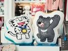 オリンピック記念品は、「ロッテ百貨店」や「THE NORTH FACE(ノースフェイス)」の路面店などで販売中。オリンピック公式マスコットである白虎の「スホラン(写真左)」、ツキノワグマの「パンダビ(写真右)」のイラストが描かれた雑貨や衣類などが揃います。
