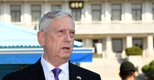 ジェームズ・マティス米国防長官。(写真=中央フォト)