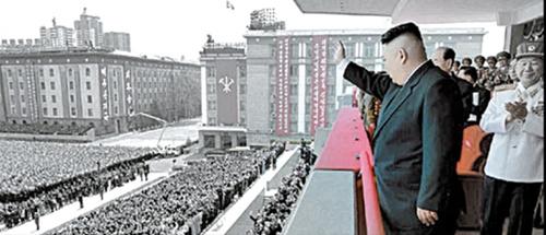 北の「ノーショー」パレード…助演を引き受けた屈辱の韓国統一部