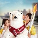 コカコーラの2018年平昌冬季五輪キャンペーンモデルのキム・ヨナ(左)とパク・ボゴム。(写真提供=コカコーラ)