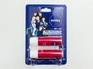 「NIVEA」は、日本でも活躍中の「iKON(アイコン)」がイメージモデルを務める「メッセージ・エディション」を販売中。写真は、メッセージカード付きの2本セット(チェリーシャイン、5,900ウォン)。自分用と、プレゼント用に購入する人が多いそう。