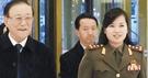 写真右側に見える女性が金正恩委員長の過去の恋人とされる牡丹峰楽団の玄松月団長だ。(写真=朝鮮中央テレビ)