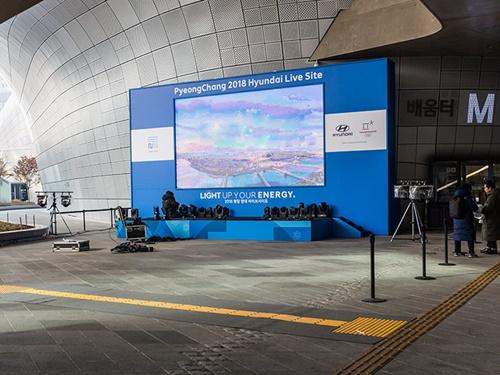 今日の20時から平昌(ピョンチャン)冬季オリンピック2018の開幕式!「東大門(トンデムン)デザインプラザ(DDP)」(写真)と、光化門(クァンファムン)の2ヶ所でパブリックビューイングが開催されます。