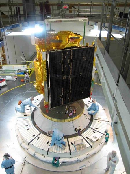 韓国国家宇宙開発事業を通じて最初に開発された千里眼衛星