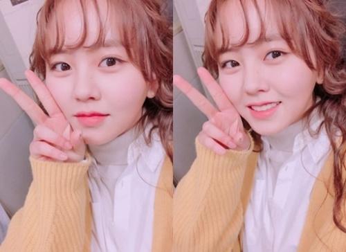 女優のキム・ソヒョン