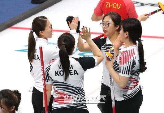韓国女子カーリング代表チーム