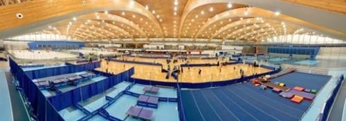 2010年バンクーバー五輪後、住民の複合体育施設に変わったカナダのリッチモンド・オリンピックオーバル。(写真=リッチモンド・オリンピックオーバル)