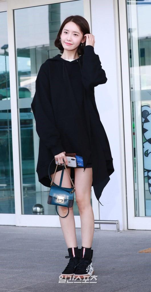 仁川空港に到着した少女時代ユナ