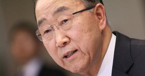 潘基文(パン・ギムン)前国連事務総長(中央フォト)