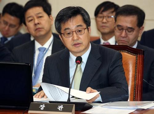 金東ヨン副首相兼企画財政部長官