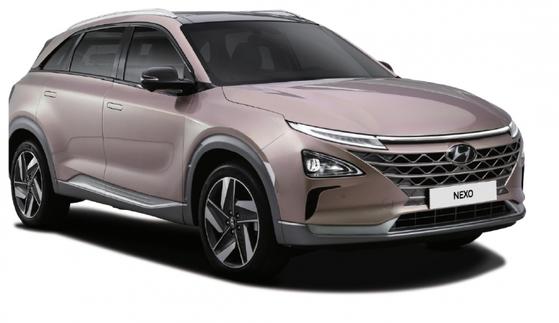 現代車の次世代燃料電池自動車「NEXO」(写真=現代車提供)