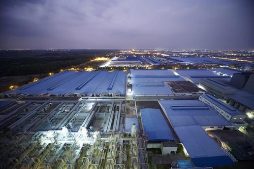 暁星ベトナムのスパンデックス工場(写真=暁星グループ)