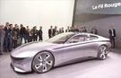 現代自動車が「2018ジュネーブ国際モーターショー」で公開したコンセプトカー「Le Fil Rouge」(現代車提供)