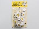 韓国の雑貨ショップ「ARTBOX」には、キャンディのような見た目の可愛らしい携帯タイプおしぼり「CANDY TISSUE」(15個入り、2,500ウォン)も。個包装なので持ち運びに便利で、お土産にも喜ばれそうです。