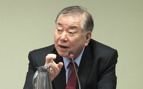 文正仁・大統領外交安保特別補佐官