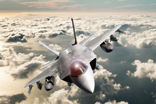 韓国型戦闘機のイメージ(中央フォト)