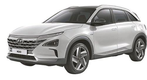 現代車の燃料電池車「ネクソ(NEXO)」