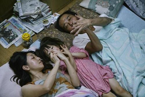 是枝裕和監督の新作『万引き家族』。(写真提供=カンヌ映画祭)