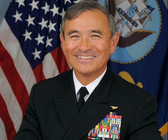 ハリー・ハリス米太平洋軍司令官(写真=米海軍)