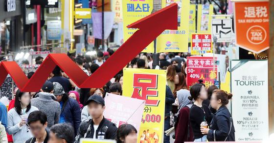 経済協力開発機構(OECD)が集計した韓国の今年1-3月期の経済成長率は1.1%だった。