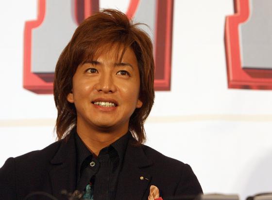 2007年映画『HERO』で釜山国際映画祭を訪れた俳優の木村拓哉。(写真=中央フォト)