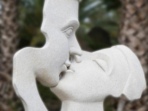 済州世界性文化博物館にある性文化・性生活イメージ作品。(写真=中央フォト)