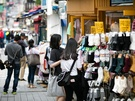 プチプラなファッション小物が並ぶお店も!掘り出し物探しに余念のない韓国女子にも人気です。