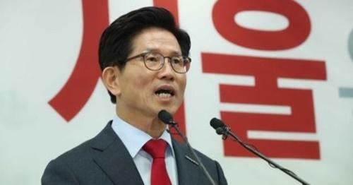 自由韓国党の金文洙(キム・ムンス)ソウル市長候補