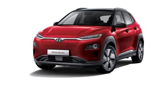 今年7-9月期に北米での発売を控えた現代車「コナ・エレクトリック」。