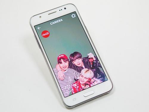 このフォトフレームサービスは防弾少年団と一緒に写真を撮れる?!とファンを中心に韓国で話題。世界のBTSが、W杯気分を盛り上げています!