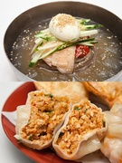 冷麺とマンドゥ4つのセット(8,000ウォン)は、これからの暑い時期にもぴったりのメニュー! (写真はイメージ、北村ソンマンドゥ 仁寺洞本店)