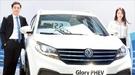 中国東風小康(DFSK)が先月9日に公開したプラグインハイブリッド(PHEV)スポーツユーティリティー車(SUV)の「G7」(写真=シンウォンCKモーターズ)