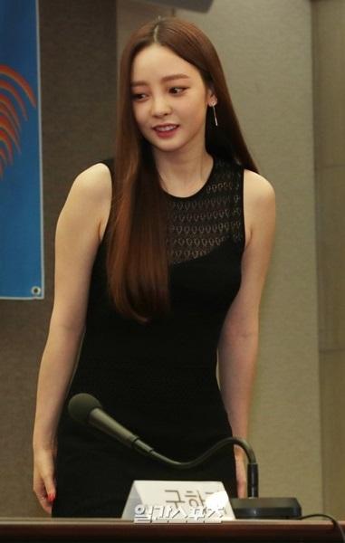 KARAの元メンバーで歌手兼女優ク・ハラ