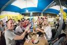 大邱市の頭流公園で開かれた「チメクフェスティバル」に参加した外国人。(写真提供=大邱市)