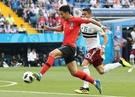 2018ロシアW杯に出場した韓国代表の孫興民(ソン・フンミン)
