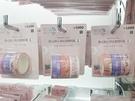 バラマキ土産として使いやすそうなのが、マスキングテープ(3種入り、1,000ウォン)をはじめとした文房具のラインナップ!