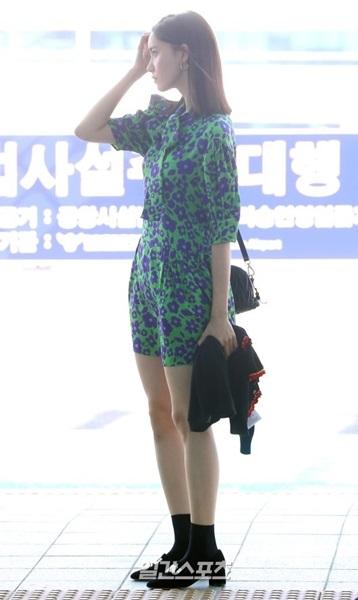 3日午後、ファンミーティングに参加するために台湾に出国している少女時代ユナ