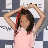 モデルSHIHOの娘サラン、「大きくなりました」可愛いハートで登場