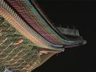 韓国の伝統的な色彩である「丹青(タンチョン)」も、夜空を背景にいっそう映えます。この味わいも夜間観覧ならでは。